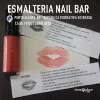 Das Foto wurde bei Esmalteria Nail Bar von Claudia S. am 10/19/2013 aufgenommen
