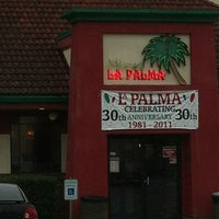 Photo taken at La Palma Family Mexican Restaurant by Natalie M. on 1/9/2013