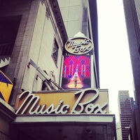 Photo taken at Music Box Theatre by Rebecca A. on 4/17/2013