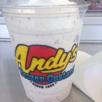 Photo taken at Andy's Frozen Custard by Antoinette L. on 6/13/2014