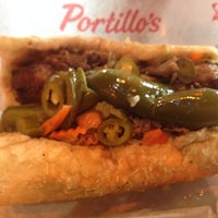 Photo taken at Portillo's by Nick P. on 10/26/2013