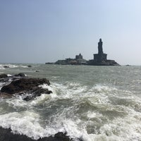 Photo taken at Kanyakumari Beach by Renganathan k. on 12/17/2017
