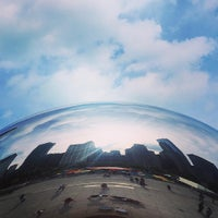 Photo taken at Cloud Gate by Anish Kapoor by RJ B. on 2/12/2016