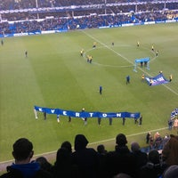 Photo taken at Goodison Park by Glen W. on 12/26/2012