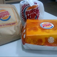Photo taken at Burger King by heidy a. on 1/17/2013