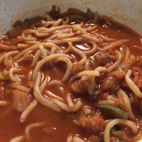 "Photo taken at Paik""s Noodle by Yolanda W. on 4/12/2014"