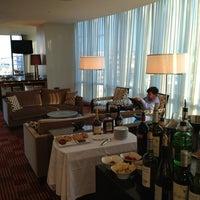 Photo taken at Intercontinental Club Lounge by Katsunori K. on 7/5/2013