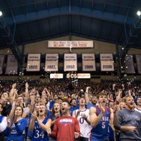 1/11/2018にUniversity of KansasがAllen Fieldhouseで撮った写真
