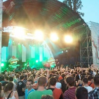 Photo taken at Budapest Park by Zsolt D. on 6/28/2012