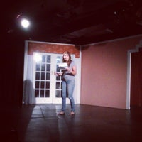 Photo taken at Teatro Victoria Espinosa by Erick C. on 2/18/2012