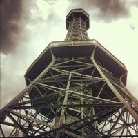 Photo taken at Petřín Lookout Tower by Den K. on 9/13/2012