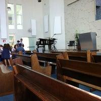 Photo taken at Primeira Igreja Batista by Guilherme M. on 3/11/2012