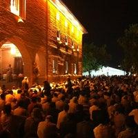 Photo taken at Hacı Bayram-ı Veli Camii by Emre A. on 8/14/2012