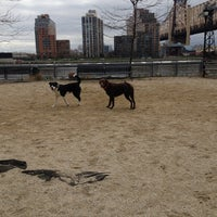 Photo taken at 63rd St Dog Run by Rachel G. on 4/13/2013