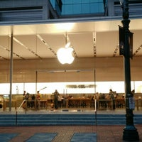 Photo taken at Apple Pioneer Place by Lambert T. on 4/22/2015