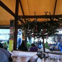 Photo taken at Θέατρον Cafe by Gönül B. on 11/25/2012