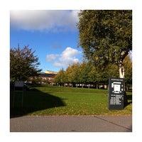 Photo taken at Kasernen, Aarhus Universitet by Anna E. on 10/10/2013