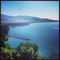 Photo taken at Castellammare Beach by Romeing R. on 6/20/2013