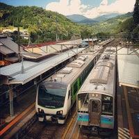 Photo taken at Minami-Otari Station by That John on 9/22/2012