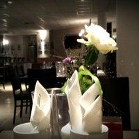 Photo taken at Restaurant@Statthotel Freiraum by Xenia G. on 9/18/2013