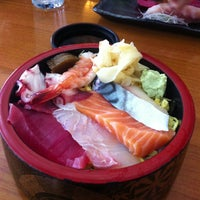 Photo taken at Hide Sushi by Cate P. on 6/26/2013