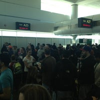 Photo taken at Gate A31 by Mike M. on 1/27/2013