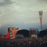 Photo taken at Spotless Stadium by Mixy L. on 1/18/2013