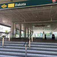Photo taken at Dakota MRT Station (CC8) by Chikki M. on 8/15/2016