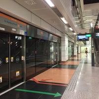 Photo taken at Dakota MRT Station (CC8) by Chikki M. on 7/13/2017