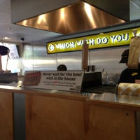 Photo taken at Which Wich? Superior Sandwiches by Kris T. on 8/9/2013