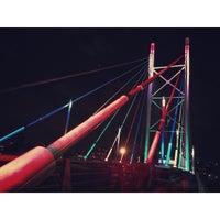 Снимок сделан в Nelson Mandela Bridge пользователем Timmee 6/1/2015