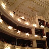 Photo taken at Lesya Ukrainka Theater of Russian Drama by Lana S. on 1/6/2013