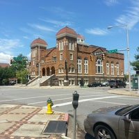 Photo taken at 16th Street Baptist Church by Jaimie G. on 7/18/2013