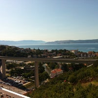 Photo taken at Crikvenica by Katarina H. on 8/18/2014