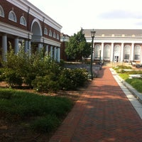 Photo taken at Alderman Library by Mark S. on 7/31/2014