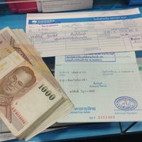 Photo taken at Krungthai Bank by Tong M. on 9/12/2013