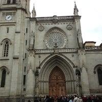 Photo taken at Catedral de Santiago de Bilbao by Pedro P. on 11/18/2012