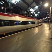 Photo taken at Platform 7 by Oleksiy D. on 12/22/2013
