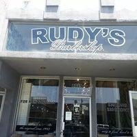Photo taken at Rudy's Barbershop by Katrina Z. on 11/17/2014