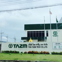 Photo taken at THAI  TAZM  NEW  FACTORY by AoffiZeR T. on 7/10/2014