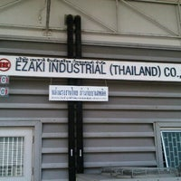 Photo taken at Ezaki Industrial (Thailand) by AoffiZeR T. on 3/28/2013