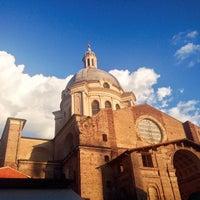 Photo taken at Piazza Leon Battista Alberti by Carlo B. on 5/24/2015