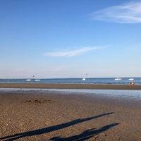 Photo taken at Spiaggia Degli Alberoni by Carlo B. on 9/4/2016