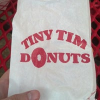 Photo taken at Tiny Tim Donuts by Grant G. on 8/25/2013