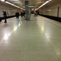 Photo taken at metro Bratislavskaya by bazzaroff e. on 12/23/2012