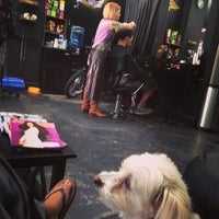Photo taken at Hair Metal Greenpoint by rupa on 6/7/2014
