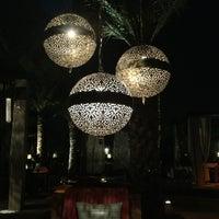 Photo taken at Bleu d'Orange at Four Seasons Resort Marrakech by Anna L. on 7/22/2013