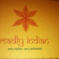 Photo taken at Madly Indian by Camryn B. on 6/17/2013