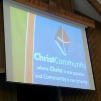 Photo taken at Christ Community by Maurice D. on 1/1/2013