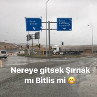 Photo taken at Siirt-Bitlis Karayolu by HAB on 12/14/2016